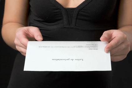 Lettre de présentation CV emploi