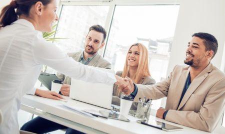L'entrevue d'embauche de groupe