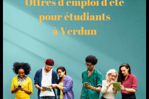 Emplois été étudiants_Verdun