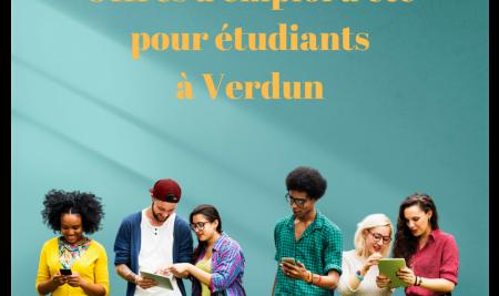 Offres d'emplois d'été pour étudiants – 10 avril 2018
