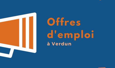 29 novembre: Offres d'emploi à Verdun et +!