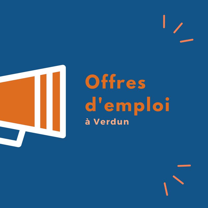 Offres d'emploi à Verdun