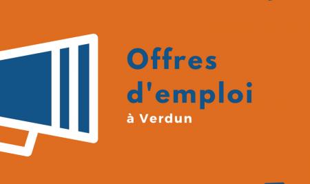 6 septembre: Offres d'emploi à Verdun et plus!