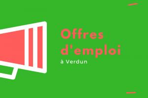 Offres d'emploi Verdun – 31 mai