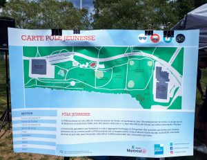 Carte du Pôle jeunesse de Verdun - Conseil jeunesse de Verdun