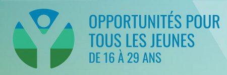 """4 avril:  Journée de recrutement """"Trouve ton match"""" pour les jeunes de 16 à 29 ans."""