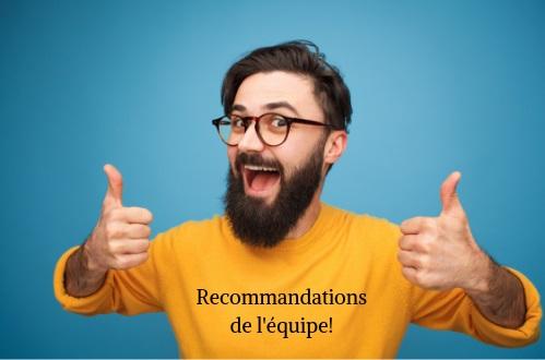 Découvrez le top 3 des articles recommandés par l'équipe du CJE de Verdun