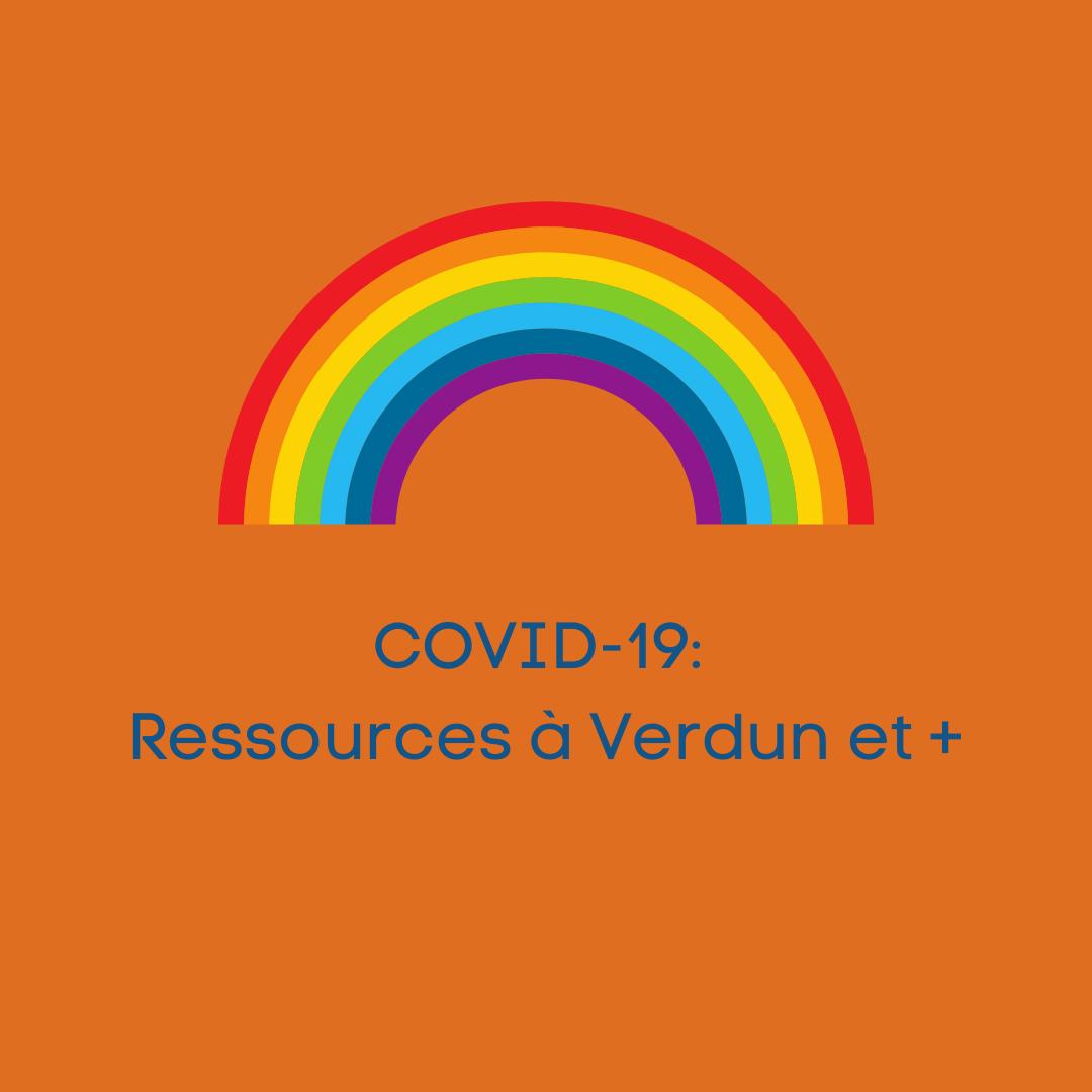 COVID-19: outils et ressources à Verdun et +