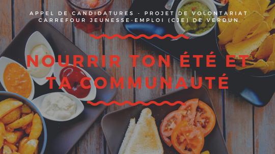 Participe au projet de volontariat 2020 du CJE de Verdun