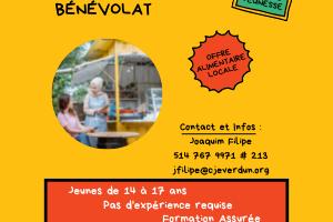 Devenez bénévoles pour le kiosque Les saveurs d'été à Verdun